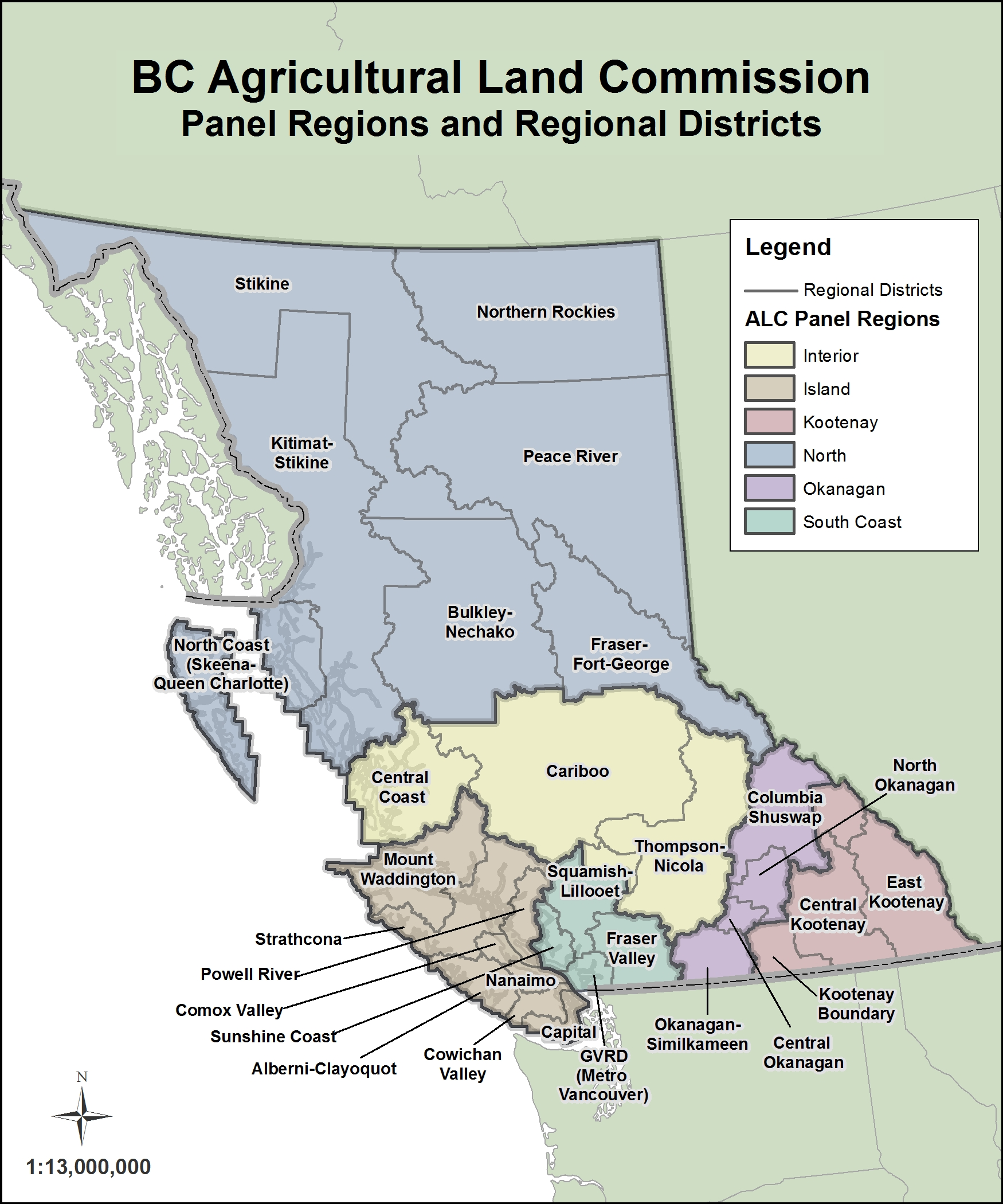 alr zones and panel regions. maps and gis  alc